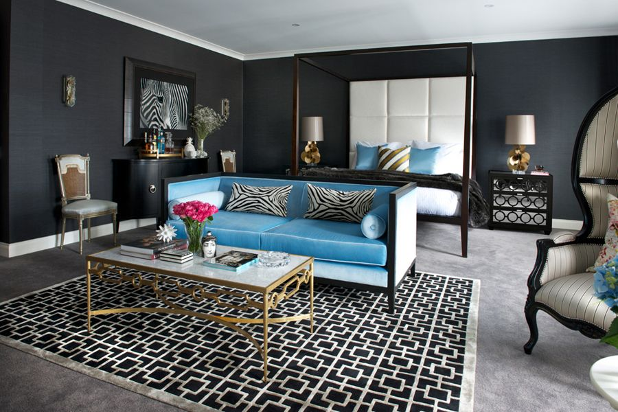 living room design by interior decorator in balwyn