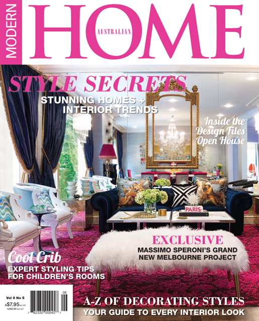 modern home magazine article