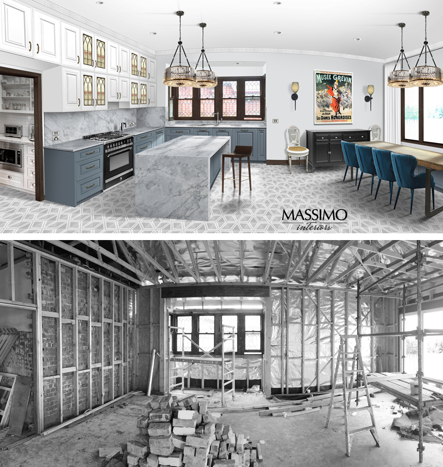 BEFORE AFTER-Ascot Vale Residence-1