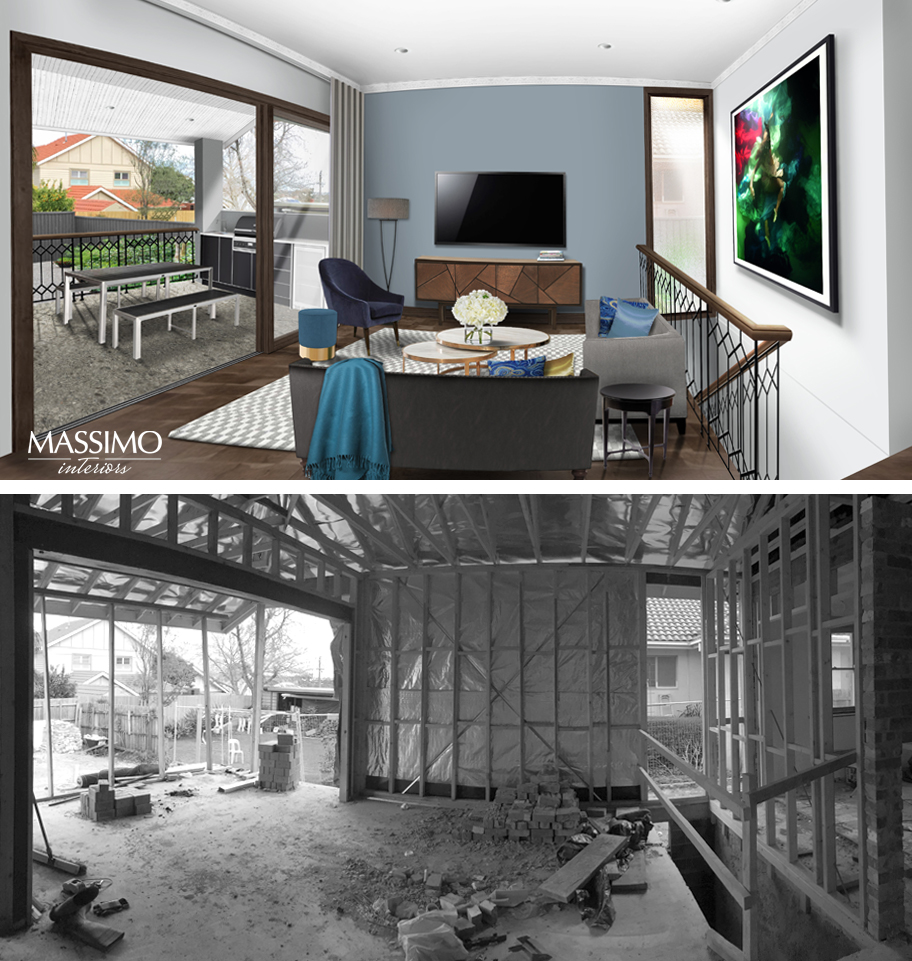 BEFORE AFTER-Ascot Vale Residence-2