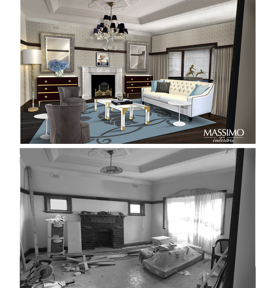 BEFORE AFTER-Ascot Vale Residence-3