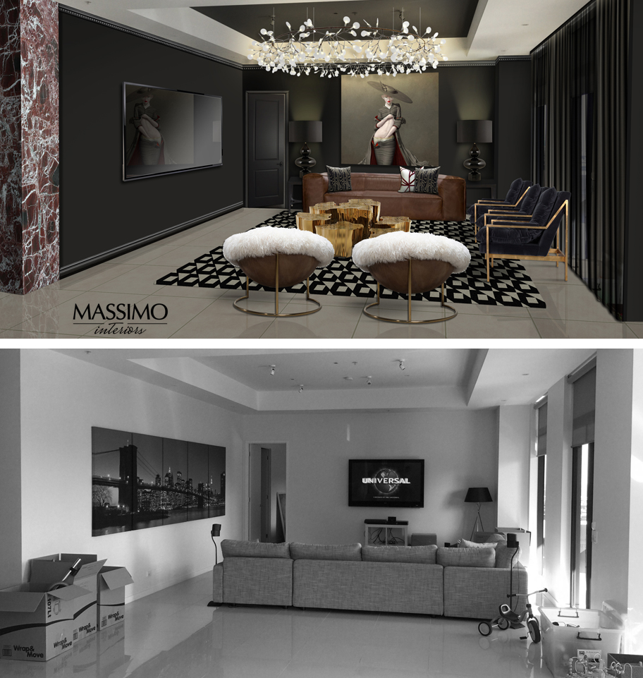 BEFORE AFTER-Melbourne Apartment-1