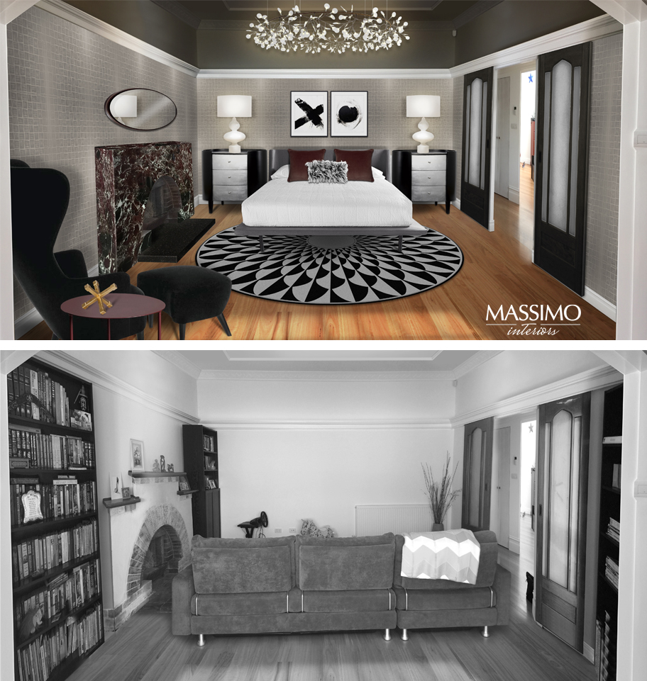 BEFORE AFTER-Murrumbeena Residence-1