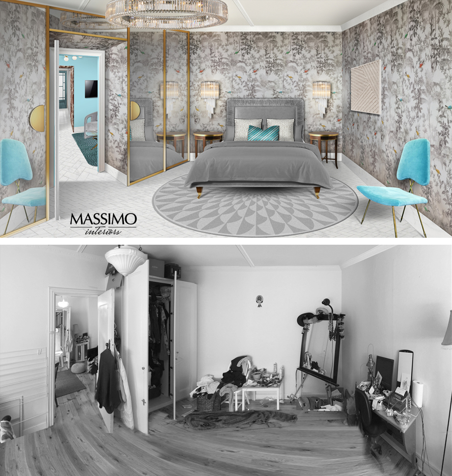 BEFORE AFTER-South Yarra Apartment-3
