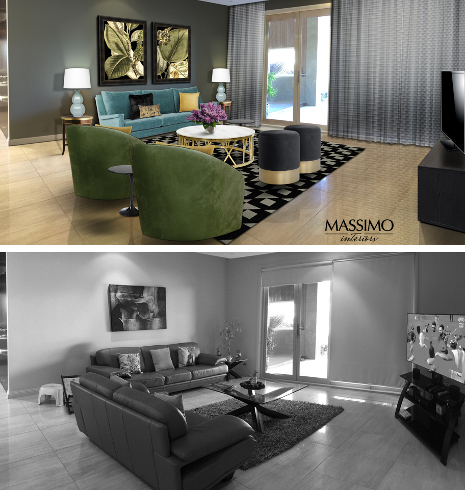 BEFORE AFTER-Sunbury Residence-2