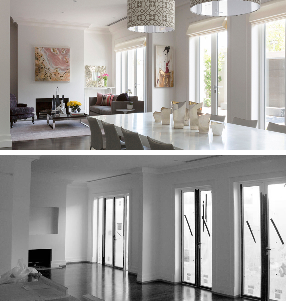 BEFORE AFTER-Toorak Residence-1